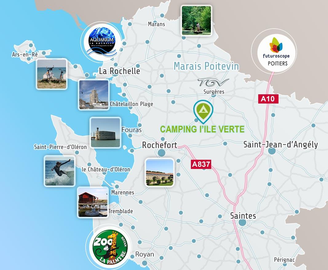 Le Domaine de l'Ile Verte en Charente-Maritime