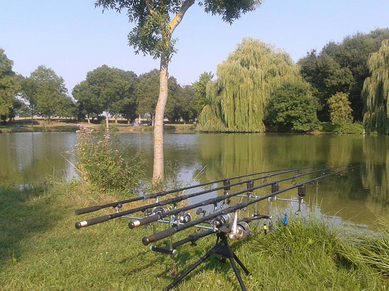 Camping pêche pas cher