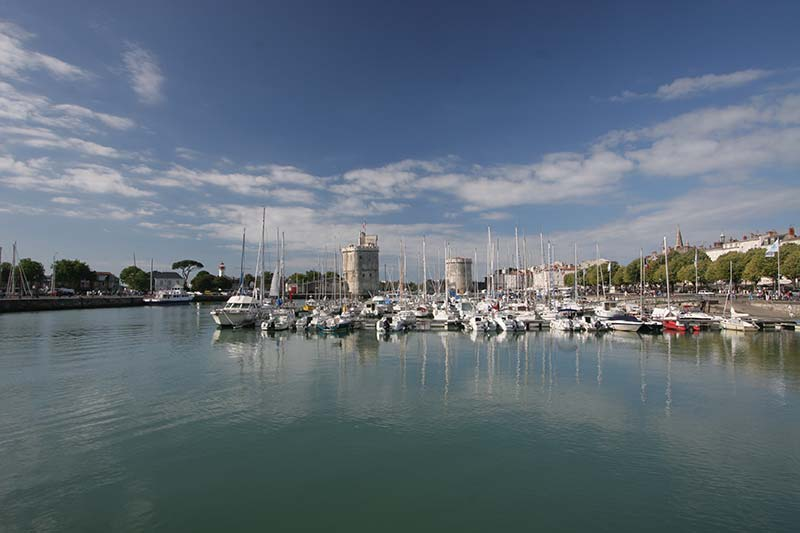 port de la Rochelle et ses tours