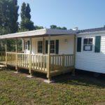 mobil home en vente au camping